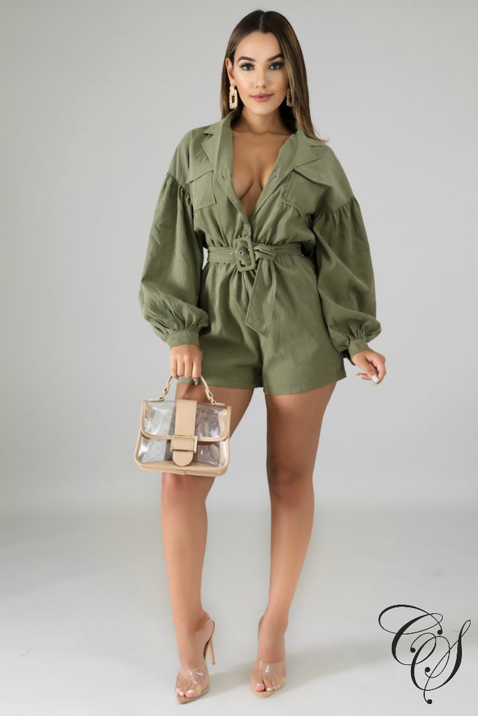 Davina Puffy Romper, Romper - Designs By Cece Symoné