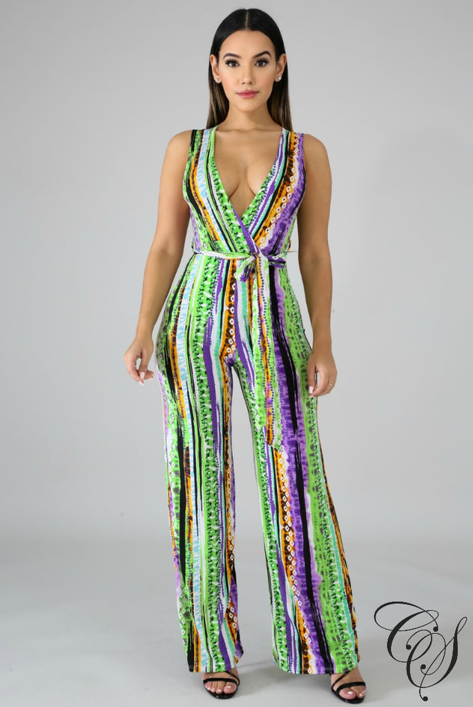 Dede Beach Vibes Jumpsuit