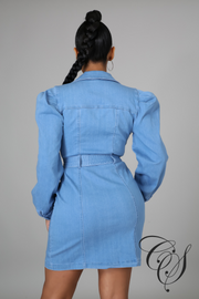 Elayna Denim Dress