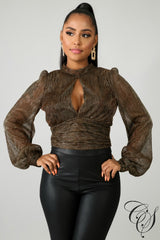 Eliza Falls Favorite Crop Top, Top - Designs By Cece Symoné