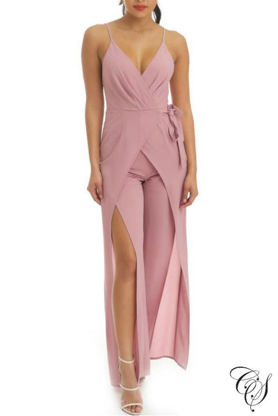 Ellarie Wrap Jumpsuit, Jumpsuits - Designs By Cece Symoné