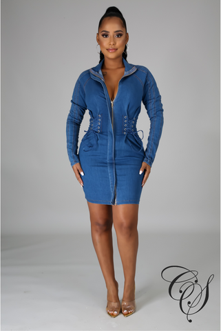 Esther Denim Dress