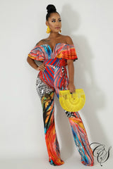 Grace Fierce Jumpsuit, Jumpsuit - Designs By Cece Symoné