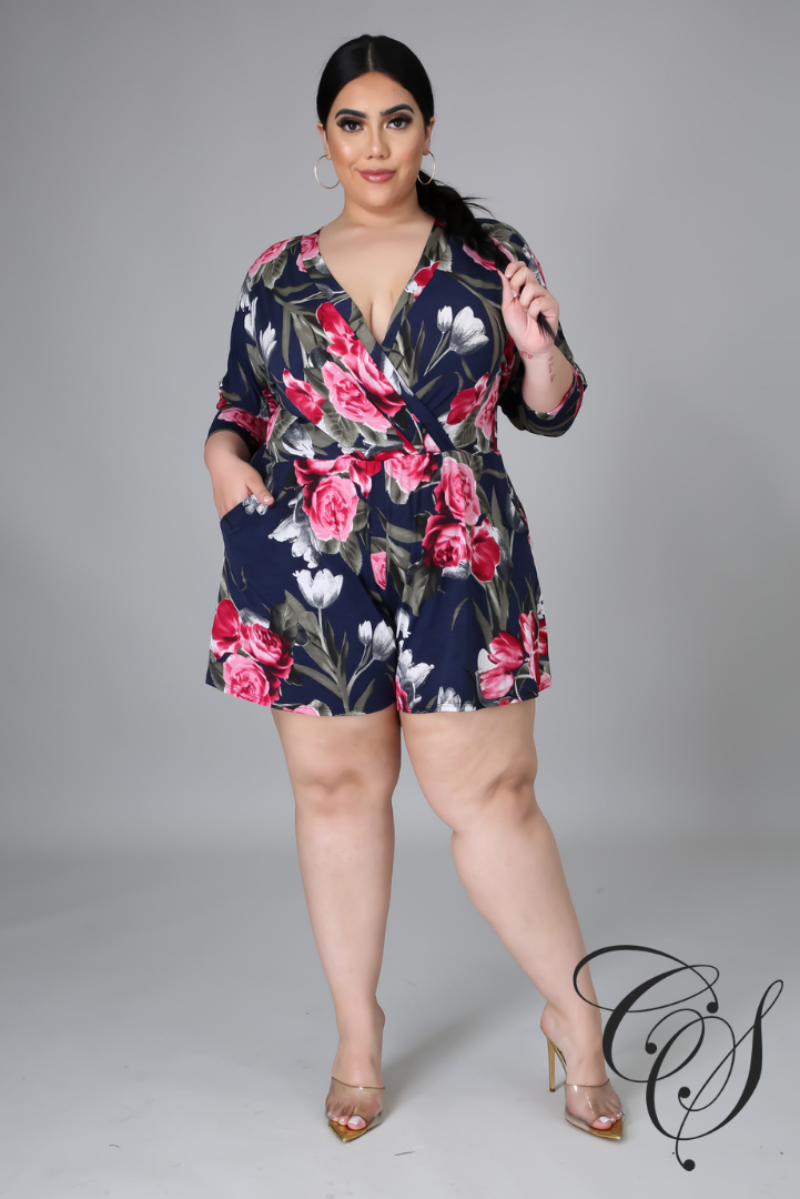 Holly Floral Romper