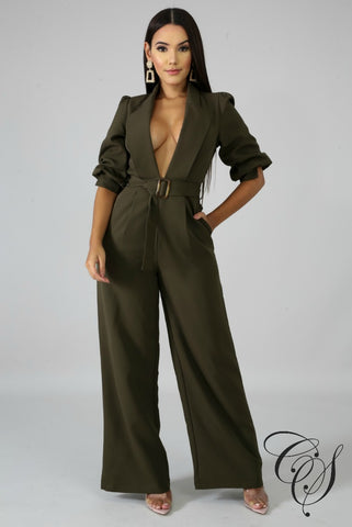 Iris Collard Jumpsuit