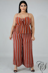 Joan Accordion Palazzo Set, Jumpsuit - Designs By Cece Symoné