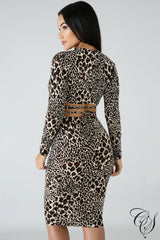 Joan Catwalk Leopard Set, Set - Designs By Cece Symoné