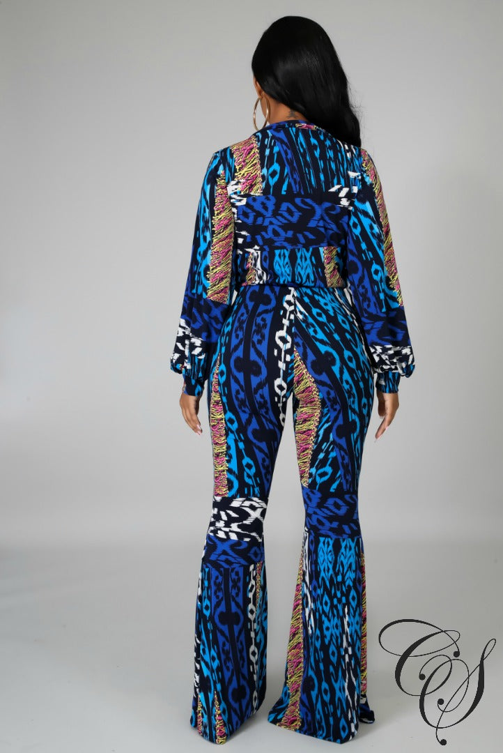 Josephine Wild Dream Pant Set, Set - Designs By Cece Symoné