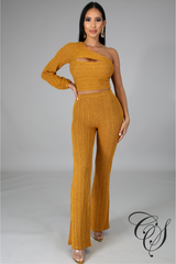 Jovann Two Piece Pant Set