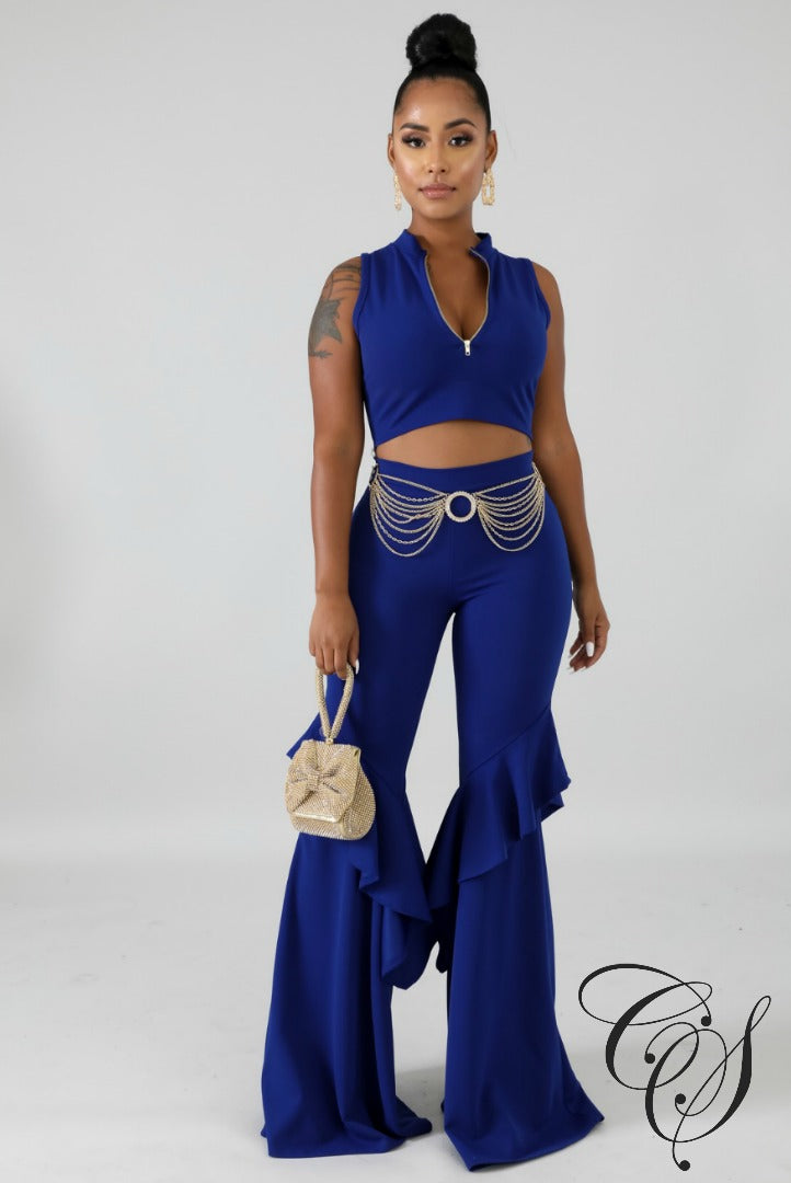 June Flaring Palazzo Set, Set - Designs By Cece Symoné