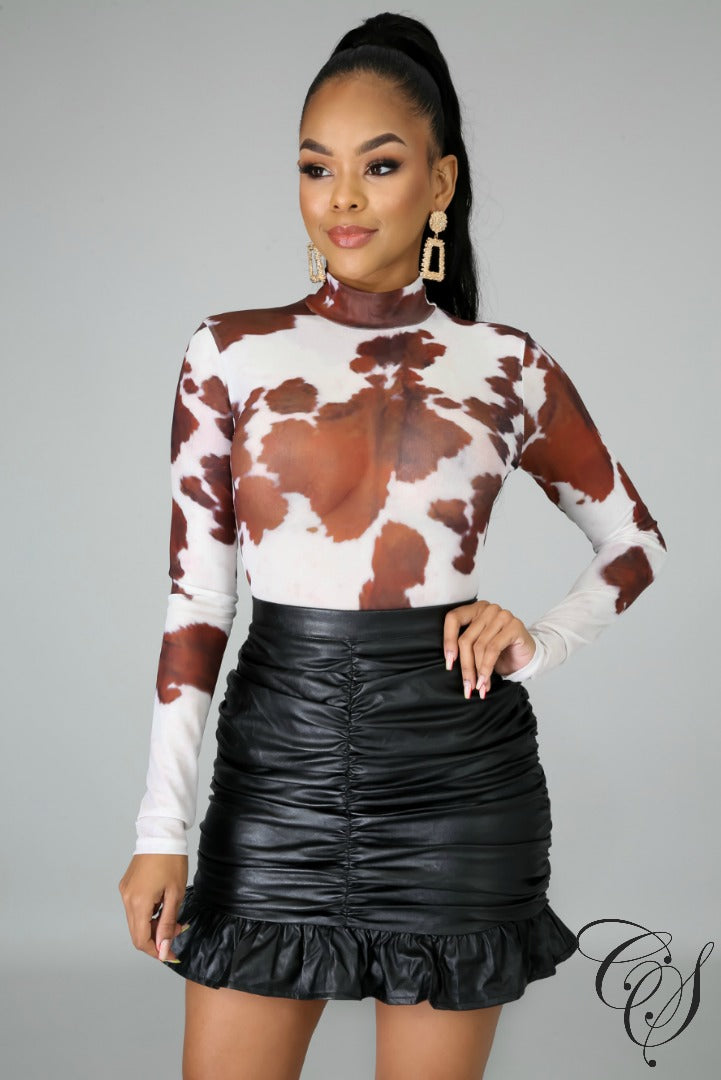 Kate Cowgirl Bodysuit, Bodysuit - Designs By Cece Symoné