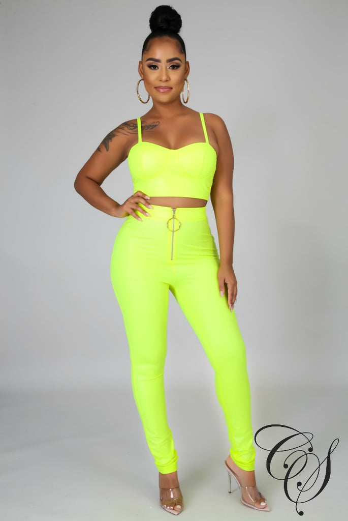 Kourtney Neon Set, Set - Designs By Cece Symoné