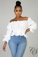 Lena Ruched Doll Top