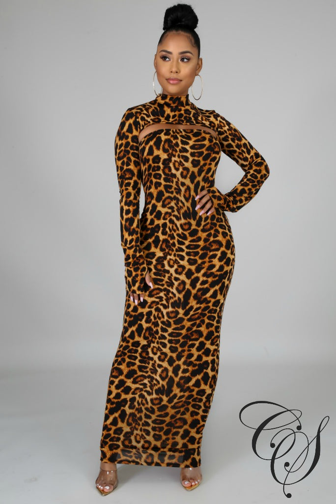 Livia Wild Tube Dress Set, Dresses - Designs By Cece Symoné