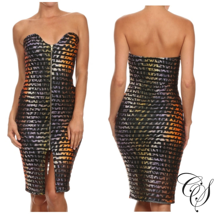 McKayla Strapless Dress, Dresses - Designs By Cece Symoné