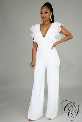 Molly Ruffle Jumpsuit