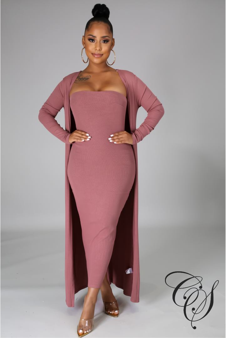 Nadia Two Piece Dress Set