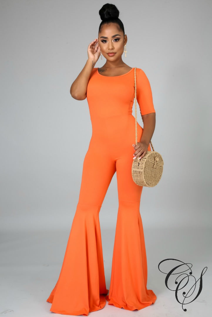 Nancy Flare Jumpsuit