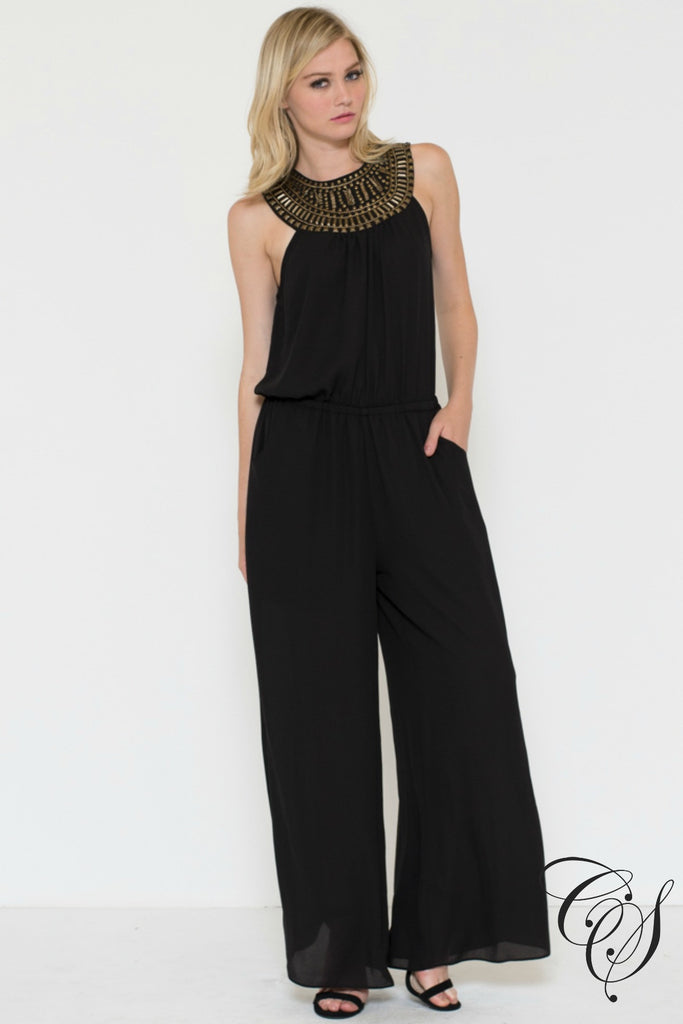 Naomi Beaded Jumper, Jumpsuits - Designs By Cece Symoné