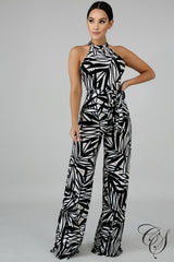 Nicole Monochromatic Jumpsuit, Jumpsuit - Designs By Cece Symoné