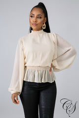 Pauline Timeless Blouse, Top - Designs By Cece Symoné
