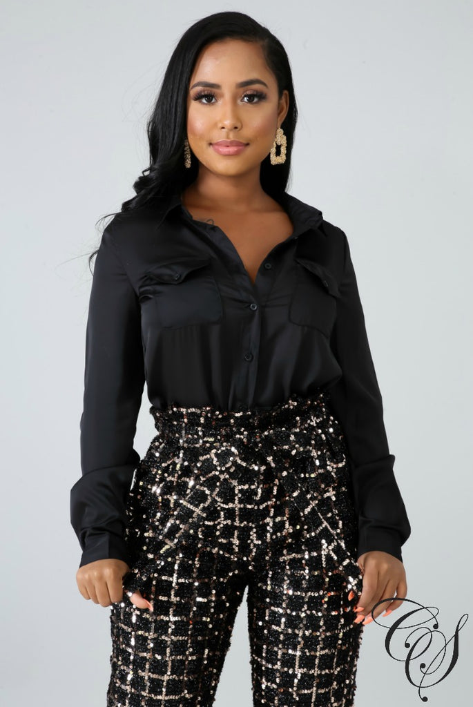 Payton Silky Blouse, Top - Designs By Cece Symoné