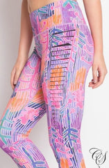 Rina Yoga Print Leggings
