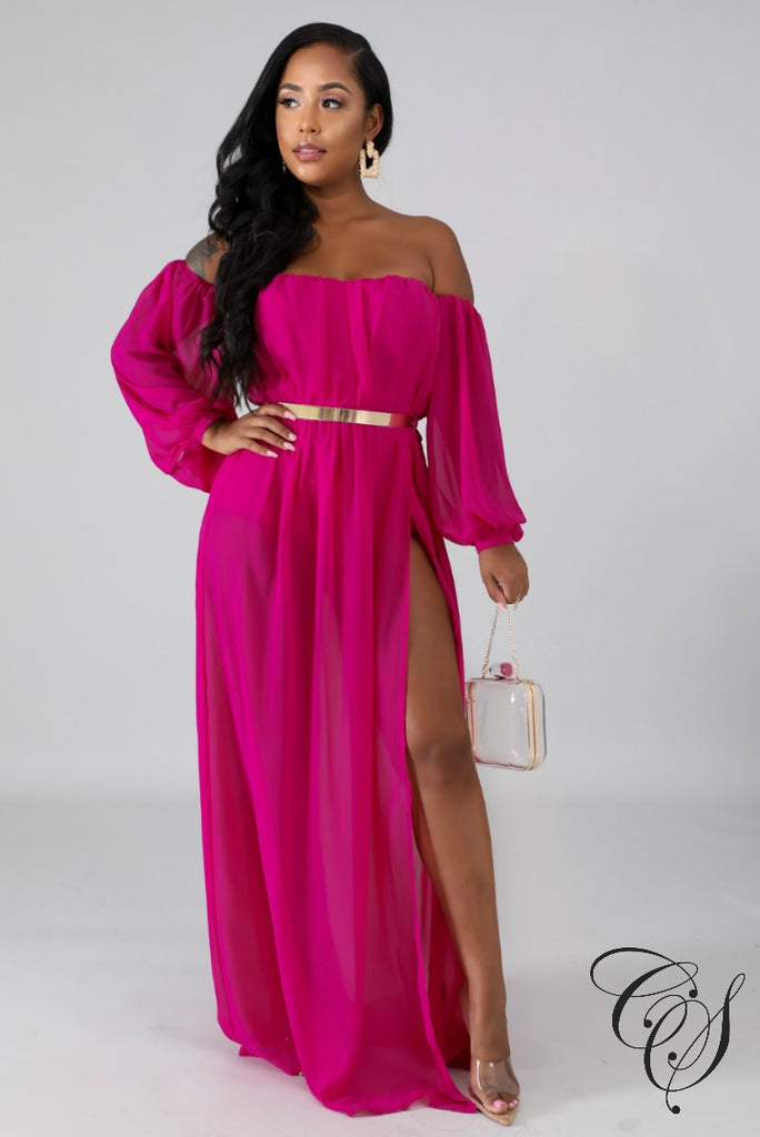 Ronda Glam Doll Maxi Dress