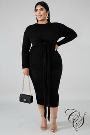 Sadie Hugs Midi Dress, Dresses - Designs By Cece Symoné