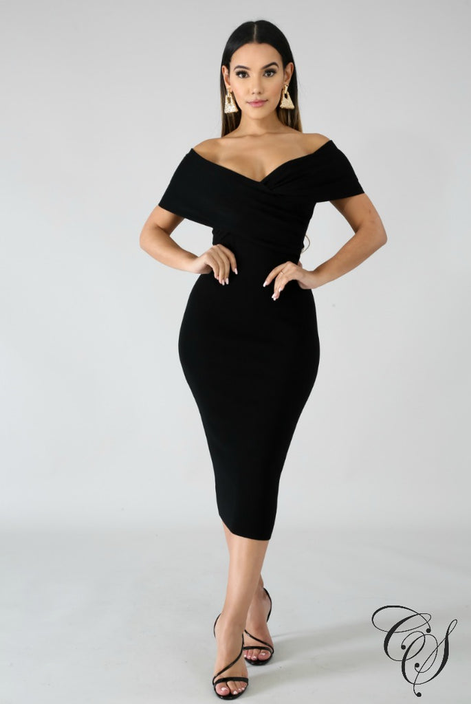 Salonge Midi Dress, Dresses - Designs By Cece Symoné