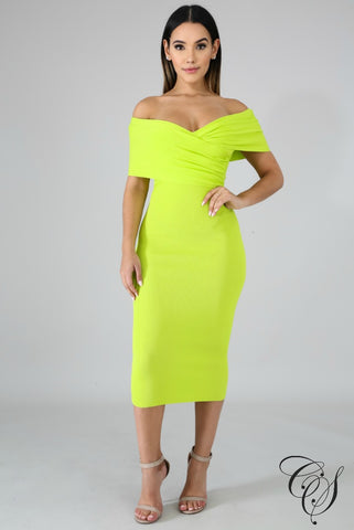 Salonge Midi Dress
