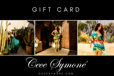 Gift Card, Gift Card - Designs By Cece Symoné