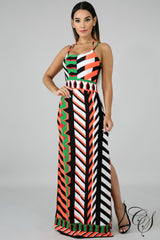 Sammie Endless Slit Dress, Dresses - Designs By Cece Symoné