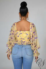 Summer Blossom Top, Top - Designs By Cece Symoné
