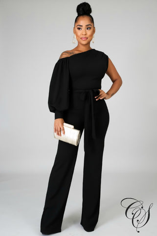 Taliyah Open Shoulder Jumpsuit