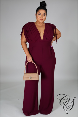 Tayler V Neck Jumpsuit