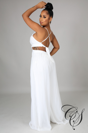 Turner Chiffon Wide Leg Jumpsuit