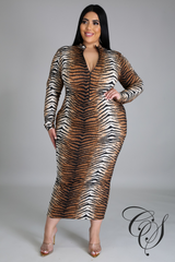 Kenni Tiger Queen Dress