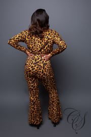 Jesse Two Piece Leopard Pant Set