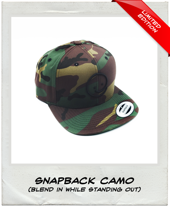 Snapback: Camo - Under the Influence of Happiness