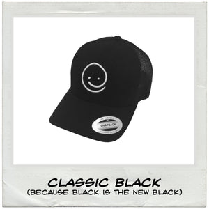 Retro Trucker: Classic Black - Under the Influence of Happiness