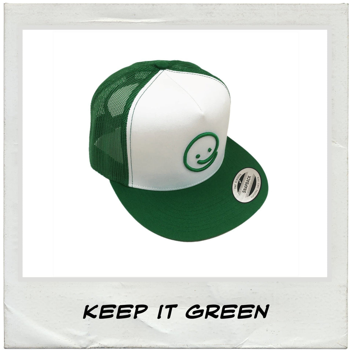 Classic Trucker: Keep It Green - Under the Influence of Happiness