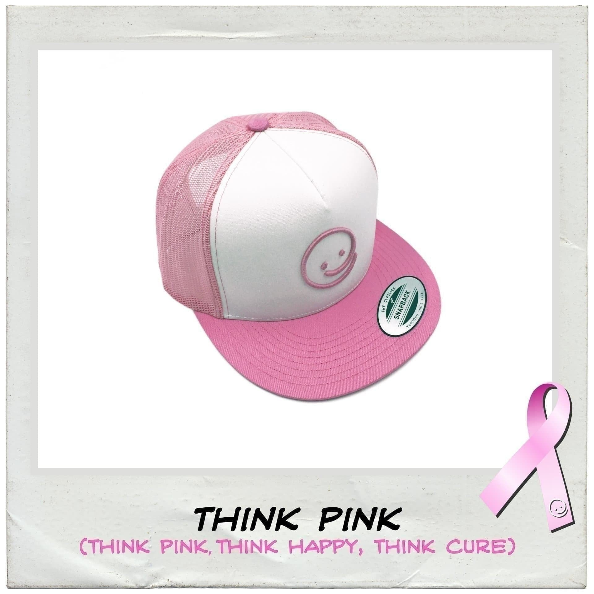 821270ccba2f6 Classic Trucker  Think Pink - Under the Influence of Happiness