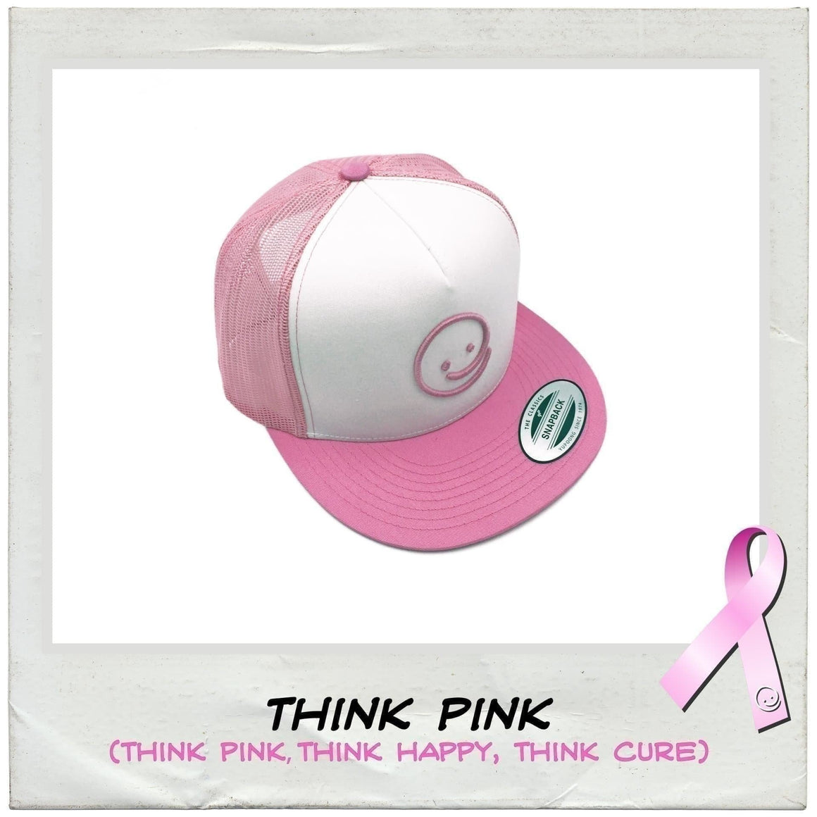 Classic Trucker: Think Pink - Under the Influence of Happiness