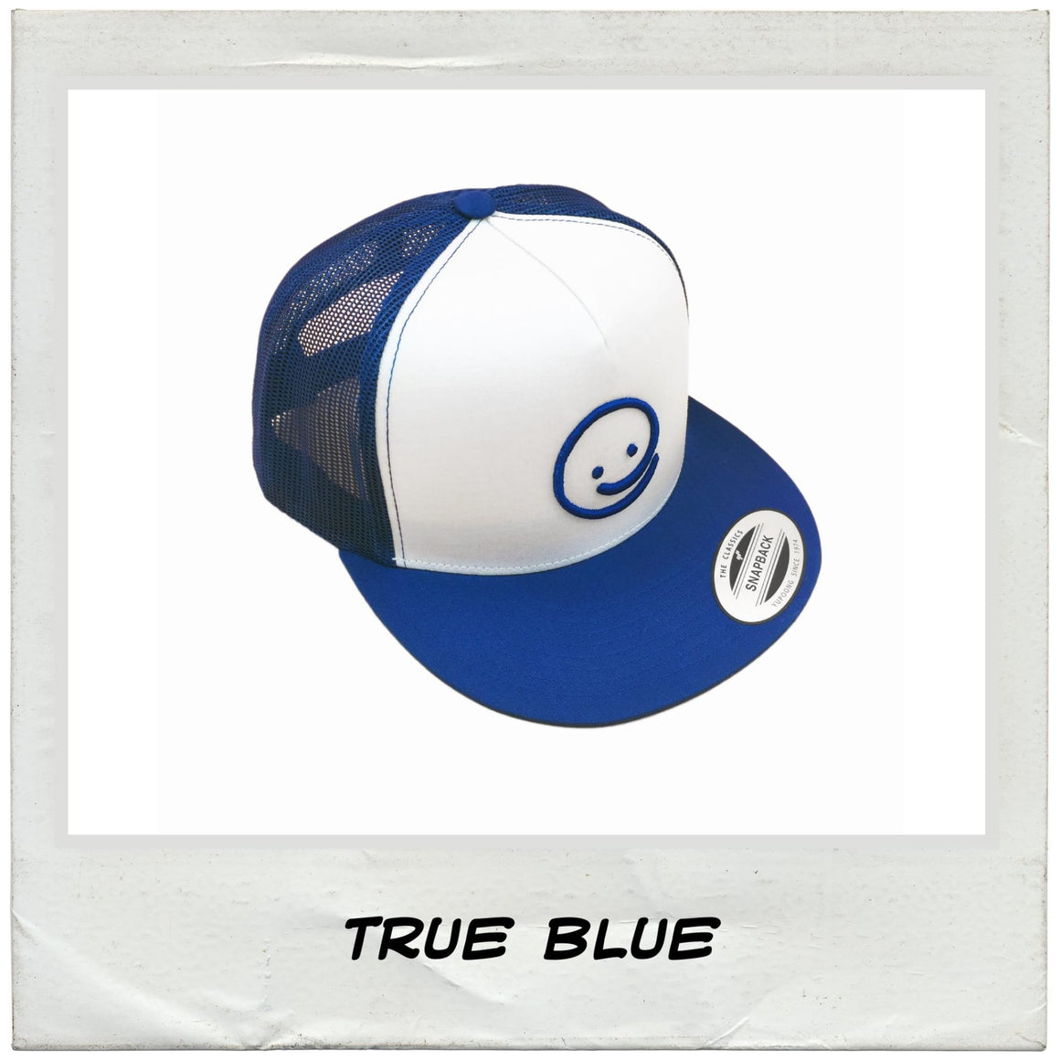 Classic Trucker: True Blue - Under the Influence of Happiness