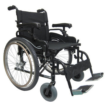 High Strength X-Wide Lt Wt Wheelchair KM8520F22W