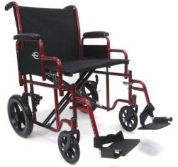 Extra Wide Transporter Wheelchair T-920W