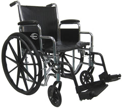Extra Wide Heavy Duty Deluxe Wheelchair KN-924W
