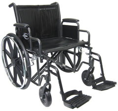 Extra Wide Heavy Duty Deluxe Wheelchair KN-922W