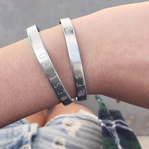 West Coast + Best Coast Adjustable Cuff Bangle Set